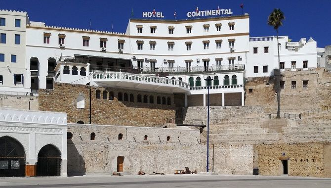 Tanger hotel Continental
