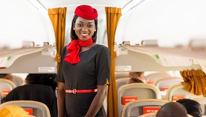 Air Senegal PNC en cabine