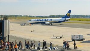 BOD Ryanair pushback