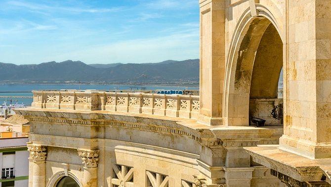 Cagliari Bastione di Saint Remy