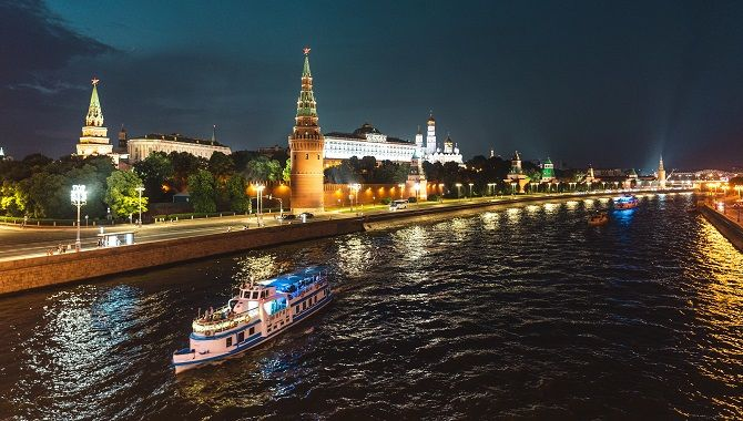 Rivages du Monde Moscou illuminations