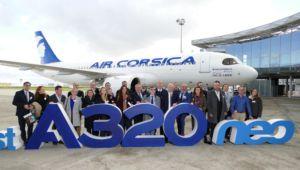 Air Corsica 1st A320 neo