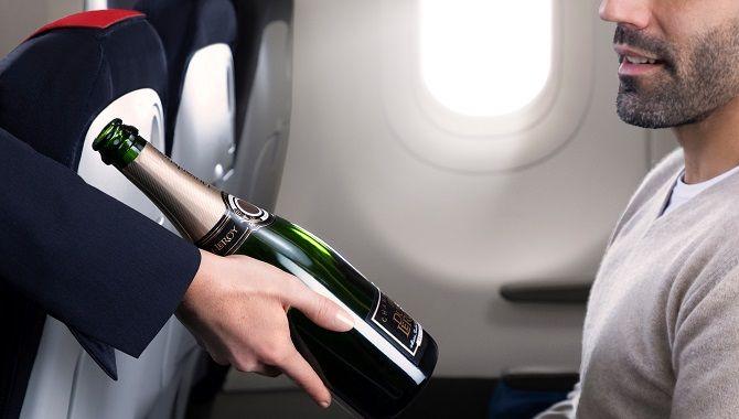 Air France Business boisson