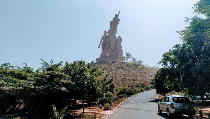 Dakar Monument Renaissance Africaine