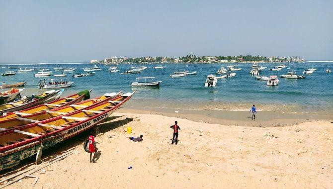 Dakar plage et ile de Ngor