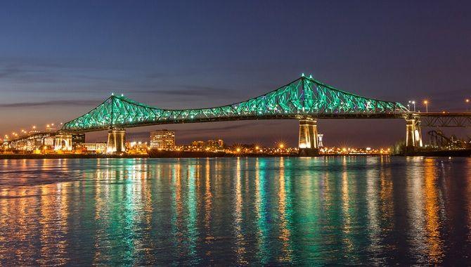 Montreal pont Jacques Cartier