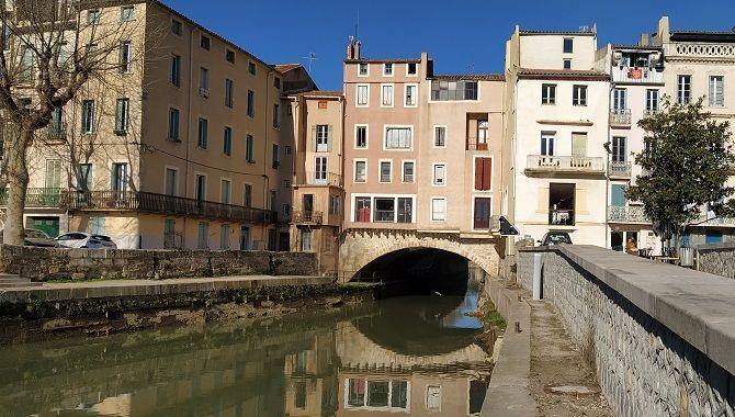 Narbonne pont des Marchands