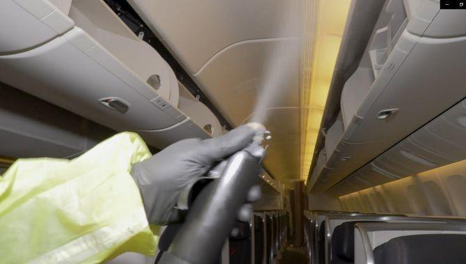 Air France Coronavirus cabine