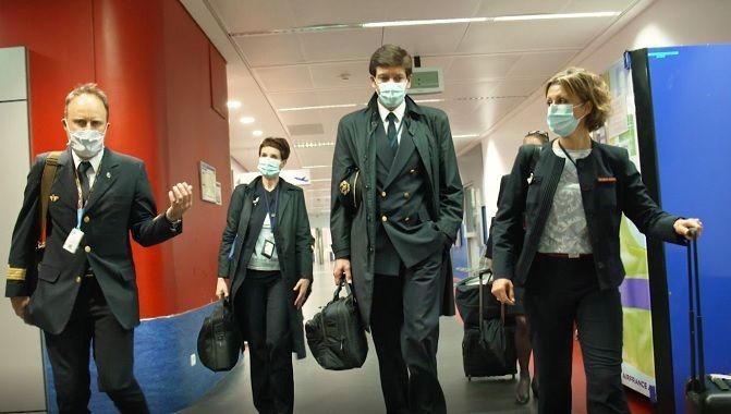 Air France Coronavirus equipage