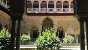 Seville Alcazar patio