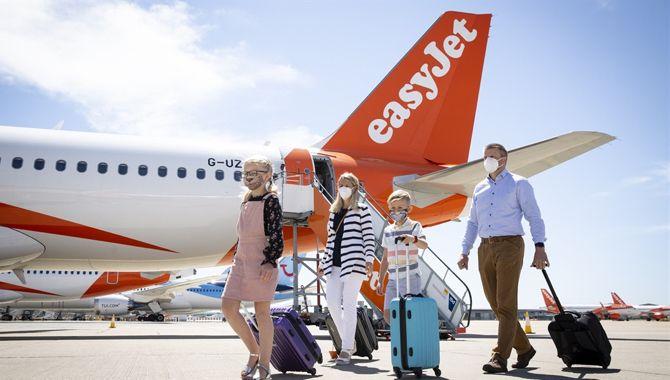 easyJet passagers masque Coronavirus