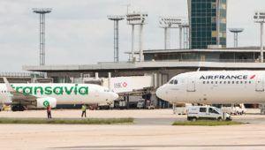 Air France et Transavia parking