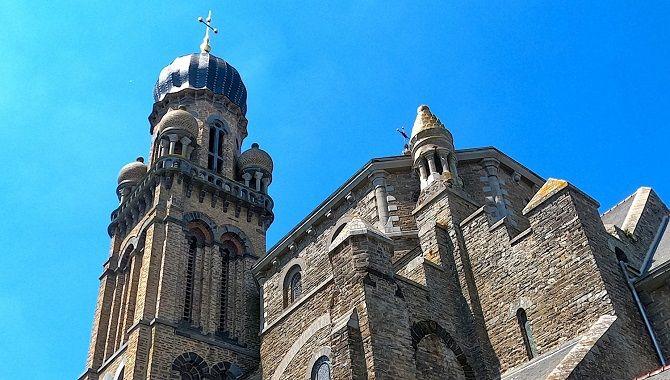Rennes eglise neo byzantine