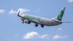 Transavia B737NG take off
