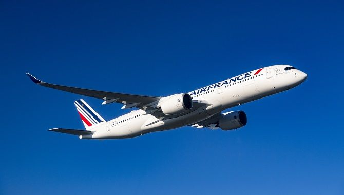 Air France A350 take off