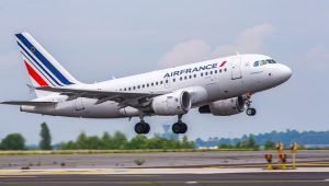 Air France A318 take off