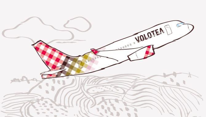 Volotea dessin avion
